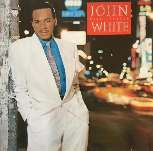 John White ‎- Night People (LP) (F-G/F-G)